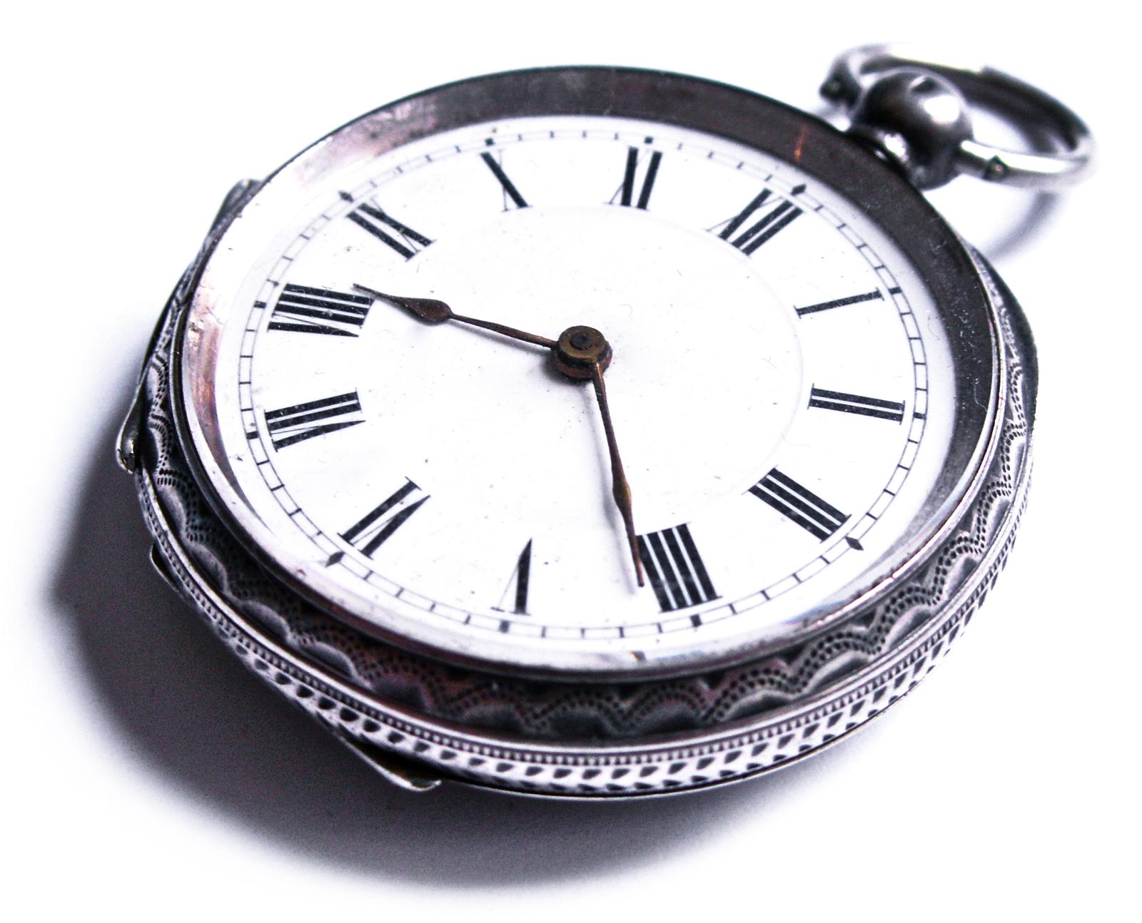 antike silber taschenuhr schweiz um 1900 schl sselaufzug pocket watch uhr swiss ebay. Black Bedroom Furniture Sets. Home Design Ideas